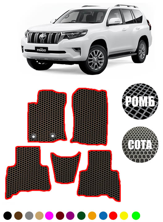 Toyota Land Cruiser Prado рестайлинг 2